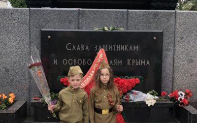 В честь Дня Победы в «Алых Парусах»