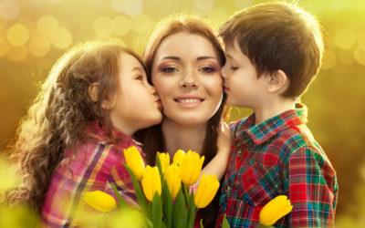 Поздравляем любимых мамочек с наступающим праздником весны и красоты — 8 марта!