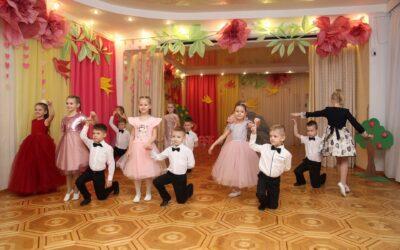 Занятия хореографией в детском саду.