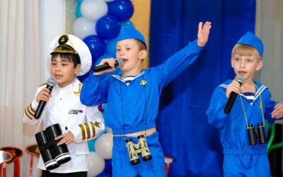 «Морской» выпускной 10 группы.
