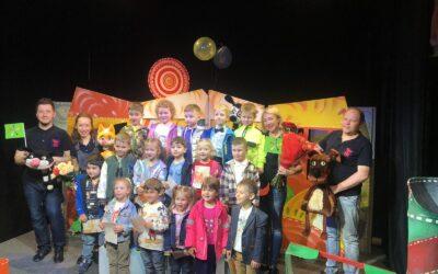Ребята посетили кукольный театр